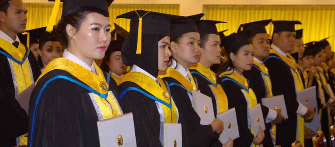 พิธีประทานปริญญาบัตรแก่ผู้สำเร็จการศึกษารุ่น ที่ 9 ประจำปีการศึกษา2559